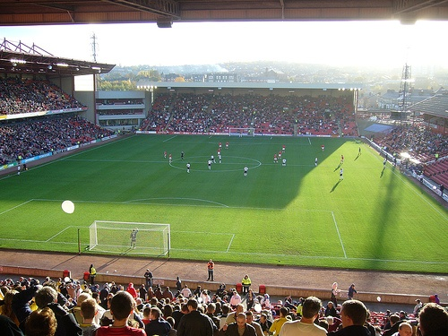 3PM, Oakwell by APM84, via Flickr; renowned for their effervescent supporters, Barnsley fans have been instrumental in securing another year of Championship football at Oakwell.