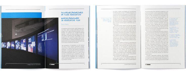 Catálogo da Exposição - The Architecture of Association - MIS-SP - ps.2 arquitetura + design