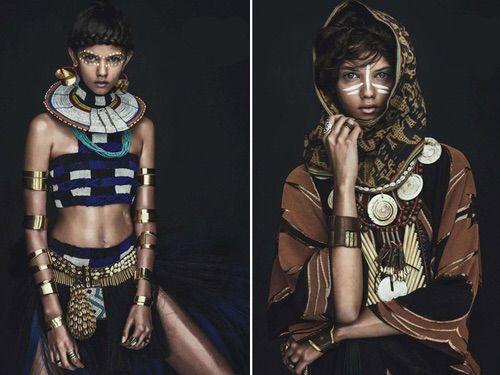 Image via We Heart It #fashion #tribal #sebastiankim #marinanery