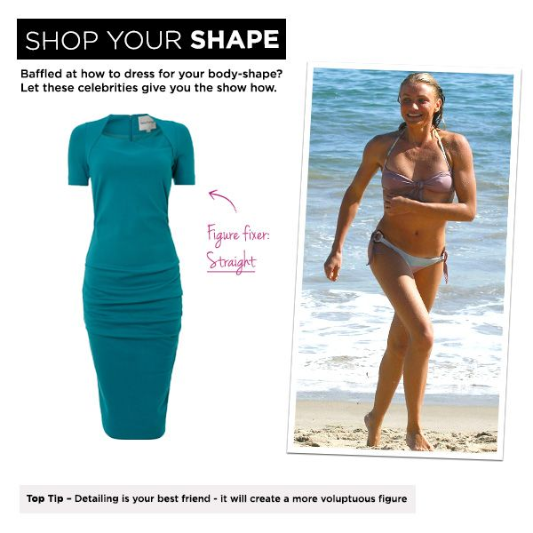 Straight: Cameron Diaz, Top Tip – Detailing is your best friend - it will create a more voluptuous figure.: Best Friends, Outfit Inspiration, Collection 2014, Cameron Diaz, Voluptuous Figure, Top