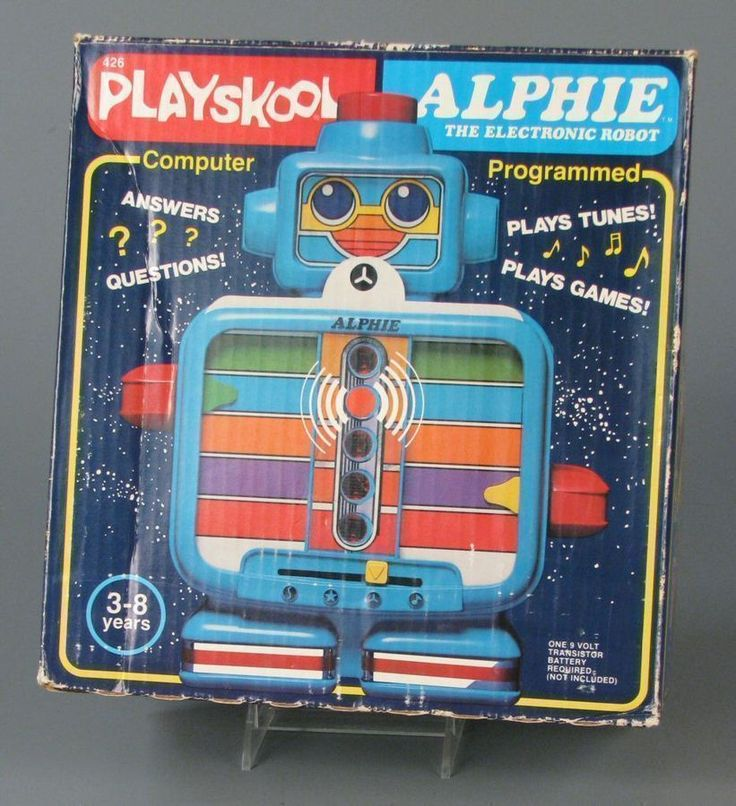 111.7040: Alphie the Electronic Robot | electronic toy | robot | Mechanical Toys | Toys | Online Collections | The Strong