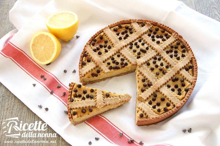 Crostata di farro e limone
