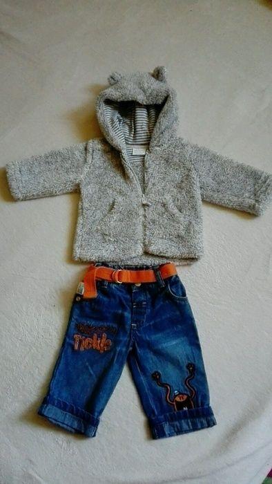 Kojenecký set jeansy a mikina
