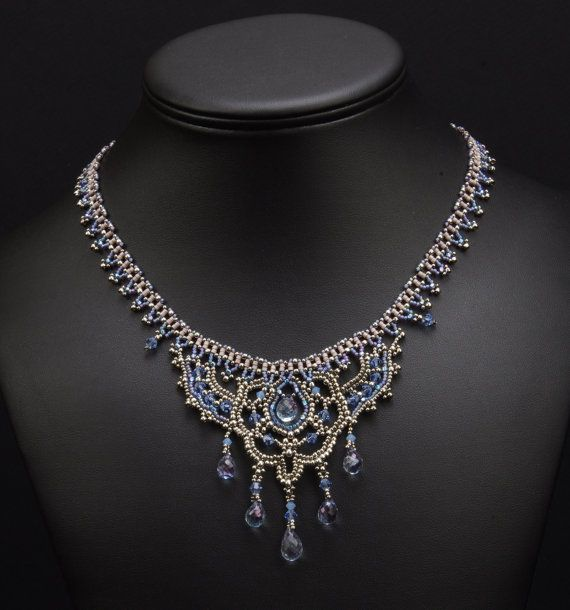 Slaying Dragons: Bracelets Jewelry, Pretty Lace, Beadwoven Necklaces, Slayed Dragons, Necklaces Bracelets, Ned Beads, Gold Jewelry, Lace Bracelets, Lace Necklaces