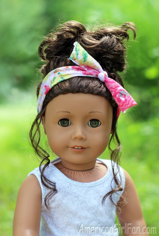 American Girl Doll Head Scarf