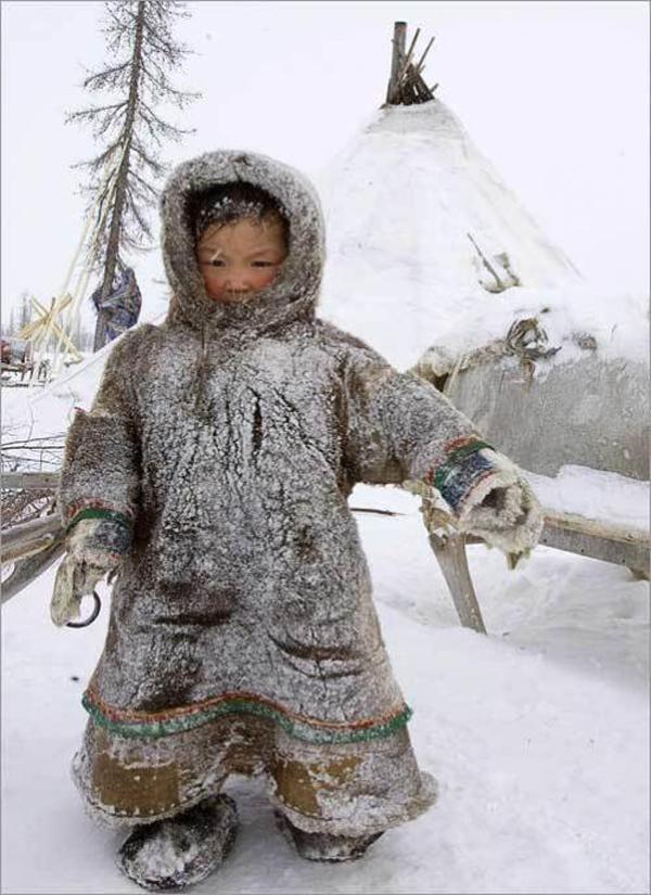 Nenets girl by Vasily Fedosenko - Pixdaus