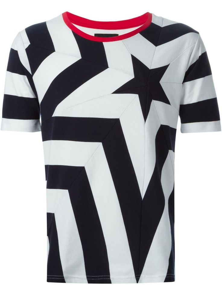 Yoshio Kubo Camiseta Estampada - Ulf Haines - Farfetch.com