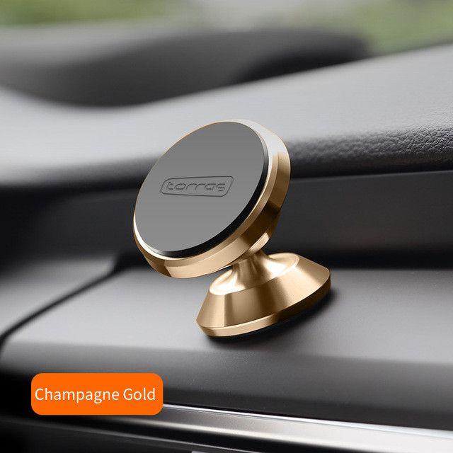 TORRAS Universal Car Phone Holder 360 Degree Portable GPS Magnetic Mobile Phone Holder for iPhone Magnet Mount Holder Stand