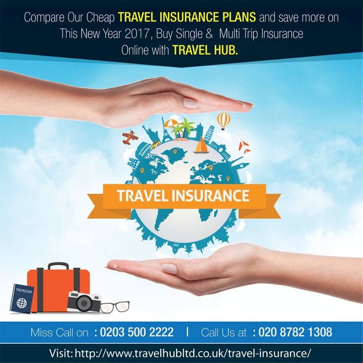 Compare Our #CheapTravelInsurance plans and save more on This New Year 2017, Buy Single & Multi Trip Insurance Online with Travel Hub.  Visit: http://www.travelhubltd.co.uk/travel-insurance/   Call for More Details: 020 8782 1308 Miss Call on 02035002222