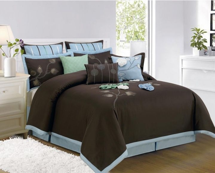 blue and brown bedding ideas brown beddingbedroom decorating
