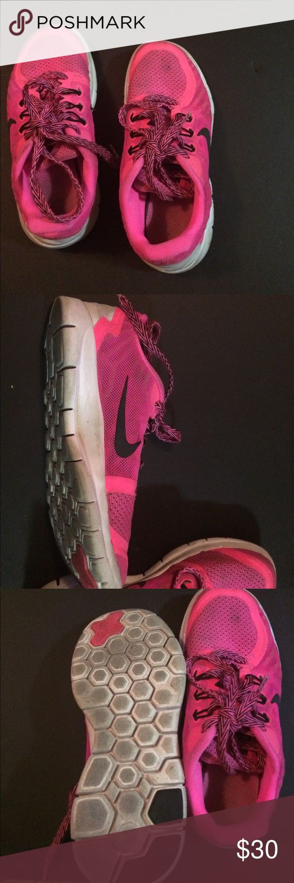 Nike free 5.0 Pink and black Nike Shoes Sneakers