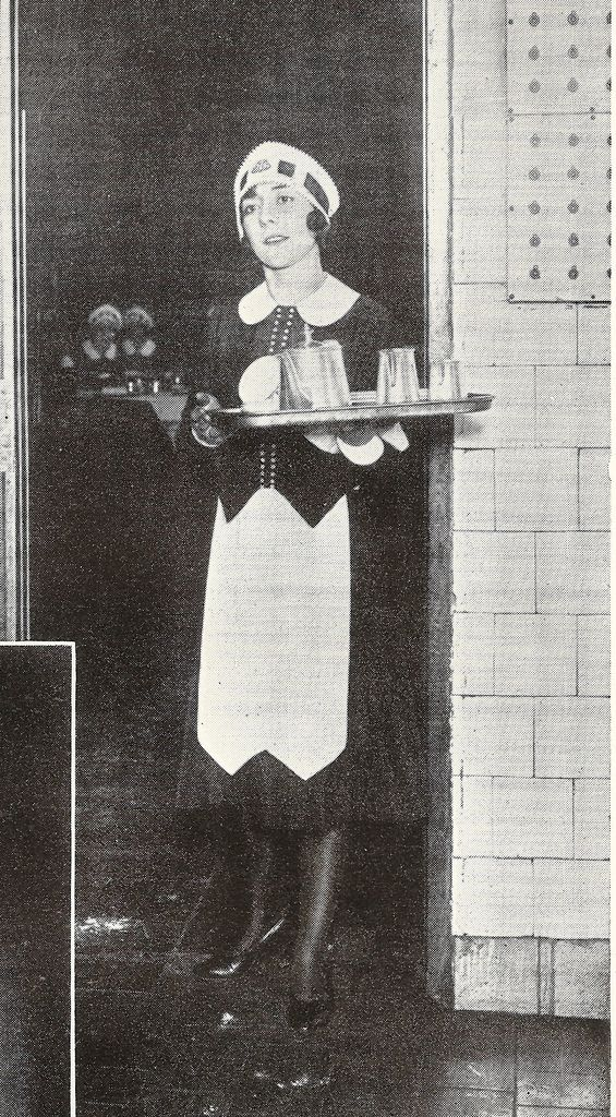 J Lyons - Corner House waitress, 1932 How famous were the Lyons Nippies - the waitresses who served in the famous and much-missed Corner House tea rooms wore the uniform introduced in 1925.