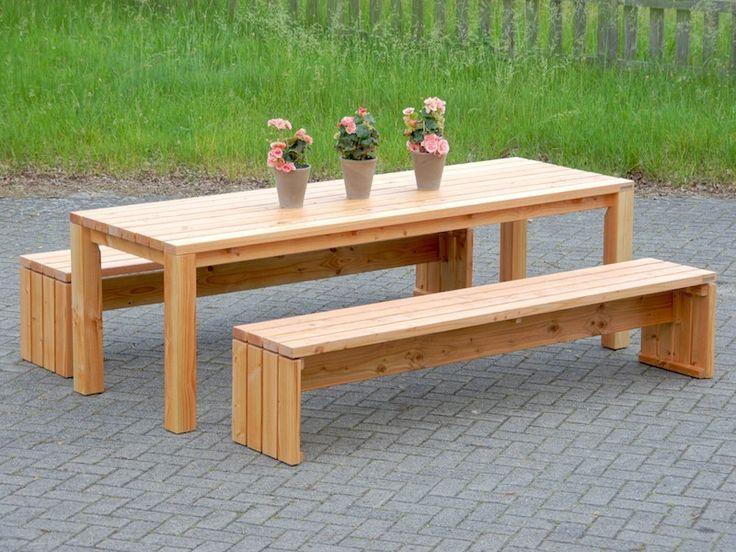 14 besten Gartenmöbel Set 3 - heimisches Holz - Made in Germany ...