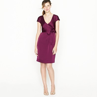 Spiced wine is this color and is quite nice. VERY autumny. Spiced wine also makes an appearance and various other silk chiffon dresses.