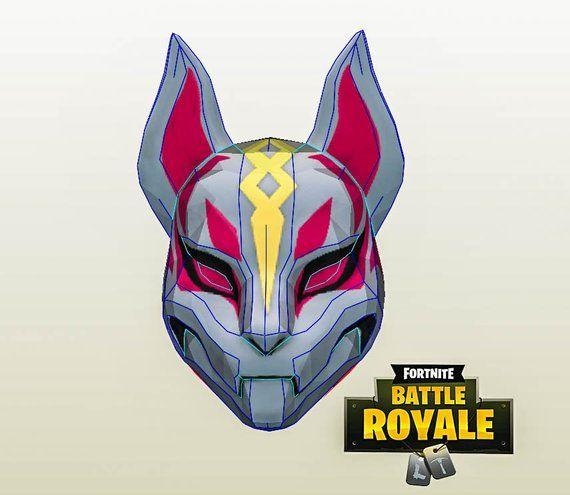 Fortnite Drift Mask Diy Patterns Fortnite Cosplay Personajes De Terror Dibujos Fortnite Temporada 5
