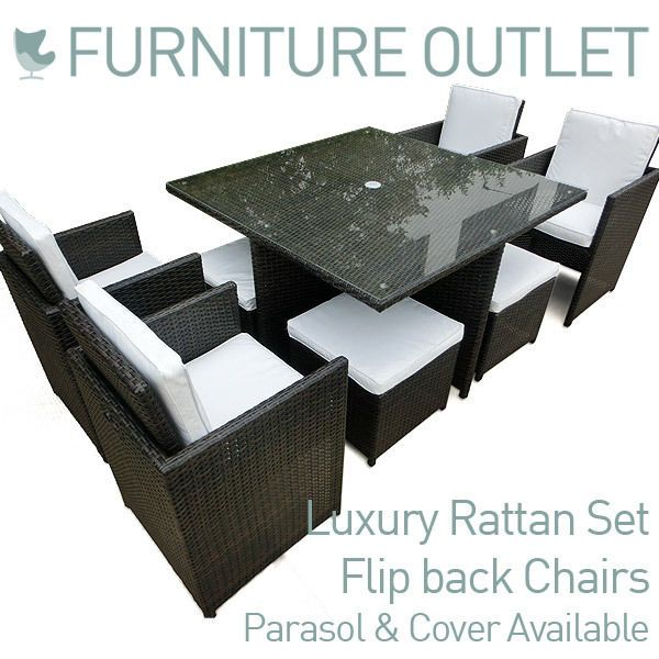 Garden Furniture Outlet garden furniture outlet rattan black or brown g on design ideas