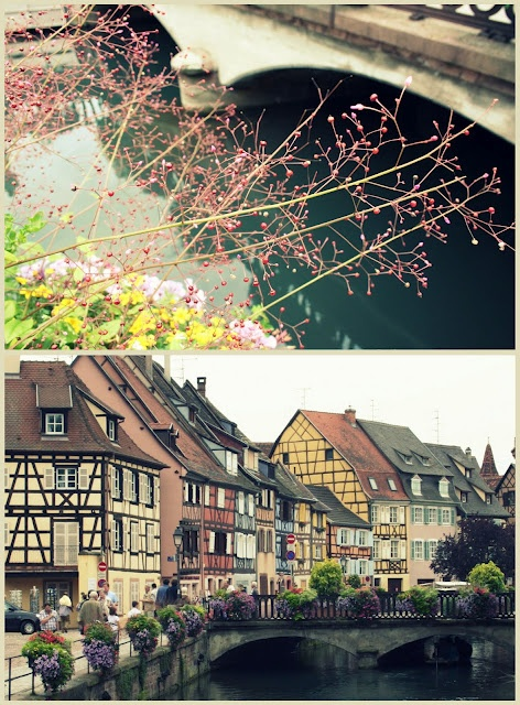 Colmar, France. we were only there for one night, but it was quite enchanting! so german, yet also french. :)