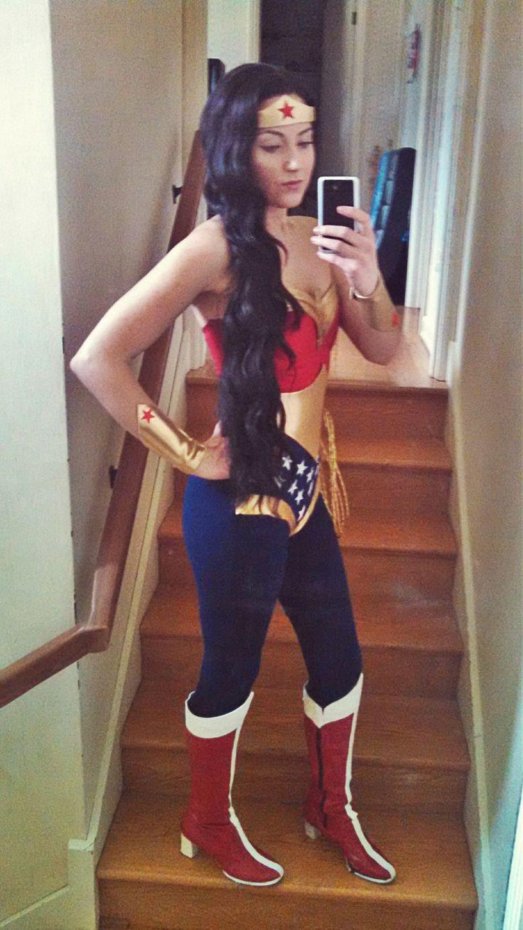 Wonder woman pants costume-7389