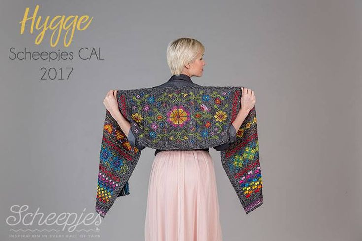 It is time to announce the first big project of the year, the all new Scheepjes CAL 2017 designed by the fabulous Kirsten from Haak Maar Raak. Hygge is the name of this CAL, and I have been practic…