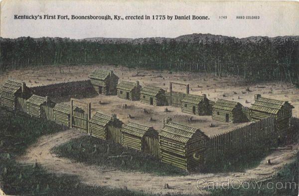 Kentucky's First Fort Boonesborough