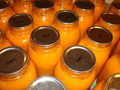 my family prepared: Canning Apricot Nectar - How To