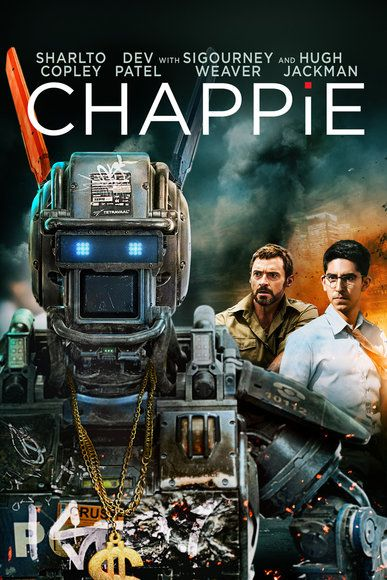 Chappie (2015) ... In the near future, crime is patrolled by a mechanized police force. When one police droid, Chappie, is stolen and given new programming, he becomes the first robot with the ability to think and feel for himself. (08-Aug-2015)
