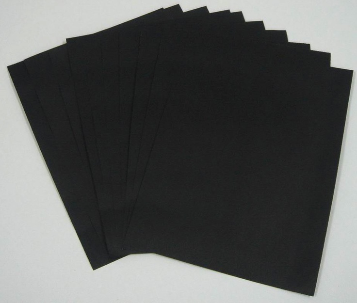 Black Paper - for use with gel pens, of course.