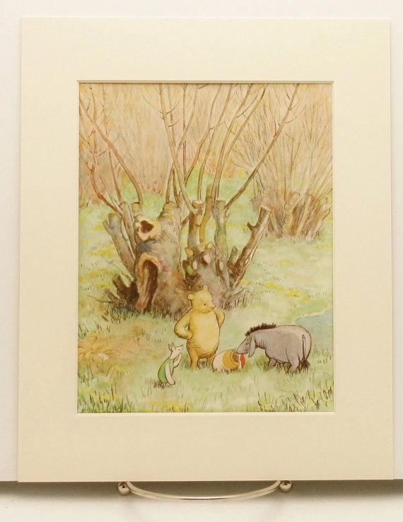 1000 images about vintage pooh bear nursery on pinterest for Classic pooh nursery mural
