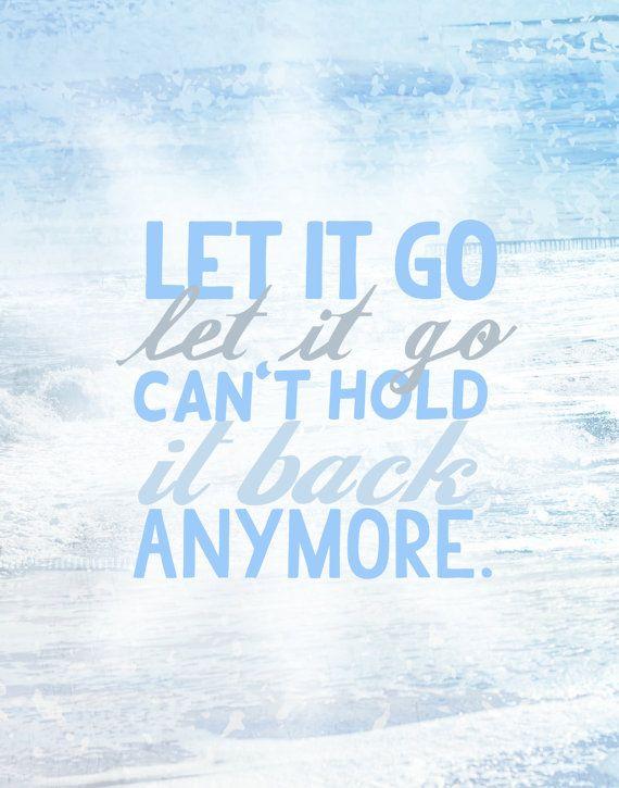 disney's frozen let it go...
