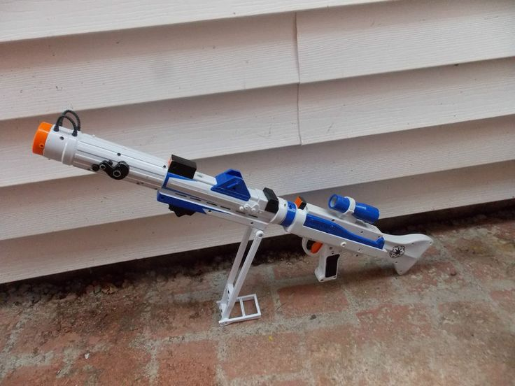 Star Wars Toy Guns : Star wars clone trooper toy blaster build your own
