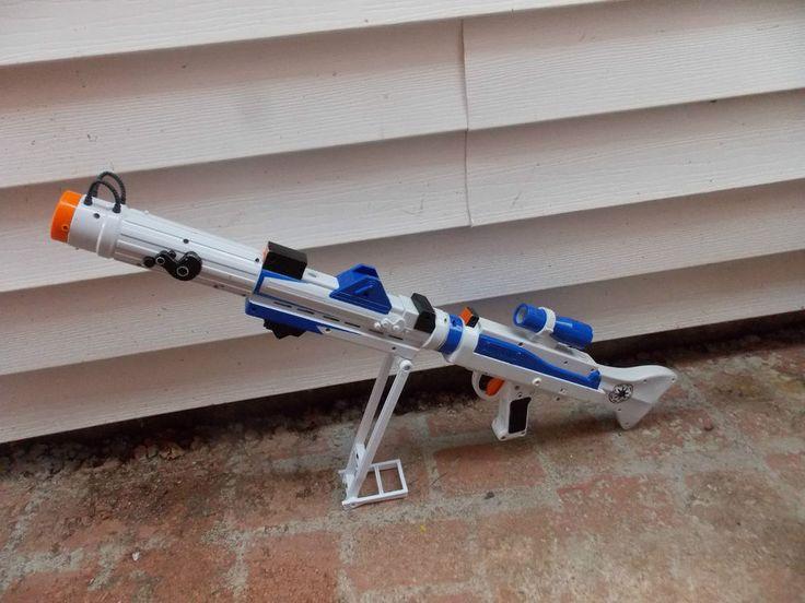 Star Wars Toy Guns : Star wars clone trooper toy blaster build your own