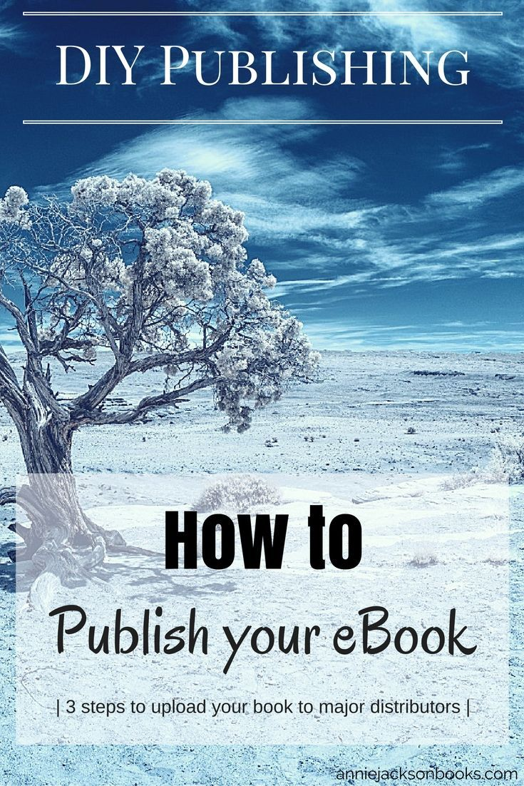Four steps to make ebook publishing simple - from deciding your distribution venues to unlocking the mystery of the epub format.  From the DIY Publishing series on http://AnnieJacksonBooks.com