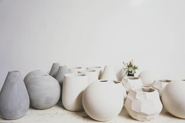 Minimalist pottery