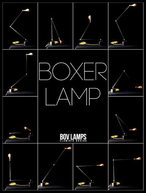 Boxer Lamp. My last work.