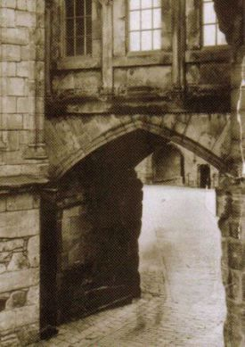 Ghost Photo - Stirling Castle Spirit- In 1956, an architectural photographer visited Stirling early in the morning to snap a few shots of the empty castle. The photographer saw no one inside, but when he developed the photos he was shocked.