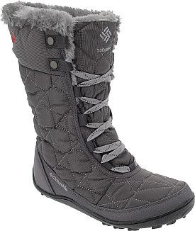 Stand up to snowy weather in the sassy style of the Columbia Minx Mid II Omni-Heat women's winter boots. #GiftOfSport