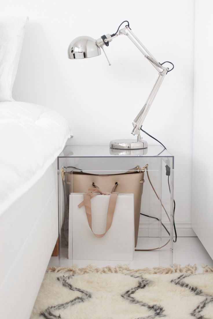 Kartell bedside table | Home Vanilla interior