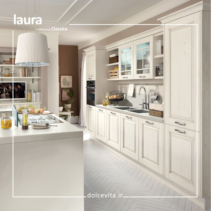 Laura Is A Kitchen Designed For People Who Cherish Tradition With Its Finely Worked Highthickness