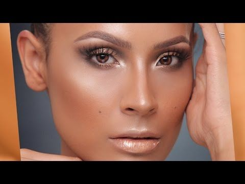 We can't get enough of Desi! Watch her #Jlo Glow tutorial featuring Illuminating Primer. #CoverFX