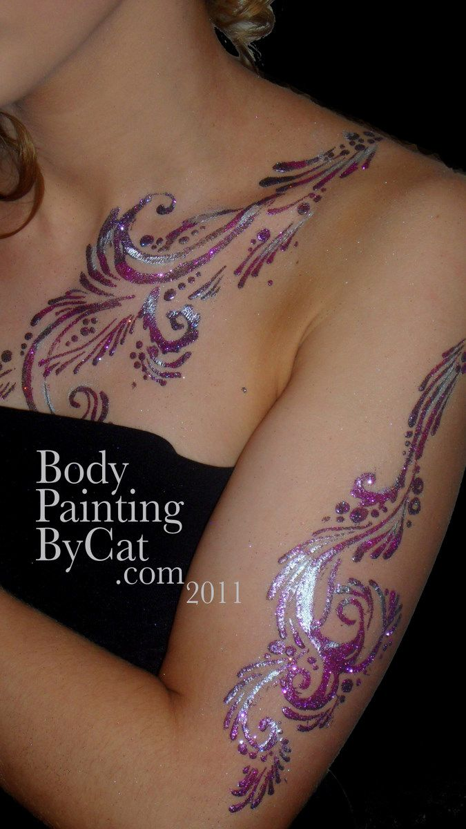 bodypaintingbycat.com