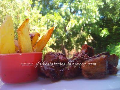 Φιλέτο μοσχαρίσιο με μαυροδάφνη και κόκκινο πιπέρι!