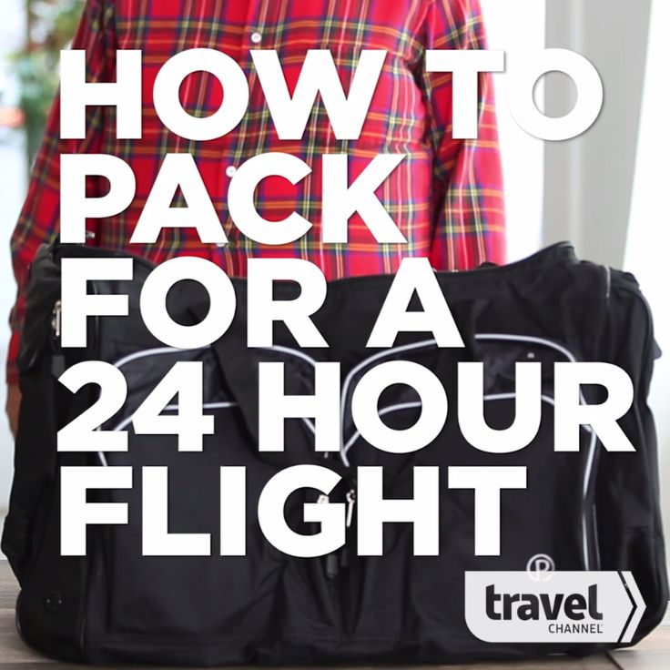 How to Pack for a 24-Hour Flight Around the World