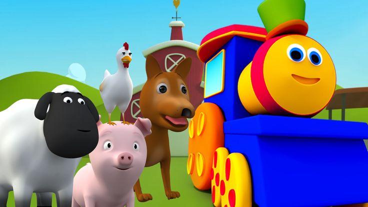 bob kereta api pergi ke ladang | bob kereta api penyusunan dalam malay Hey kids today bob teaches us various animals. So lets go and have fun while learning. #kids #toddlers #animals #learning #preschoolers #kindergarten #educational #parrenting #homeschooling