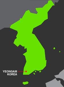 Yeongam, Korea