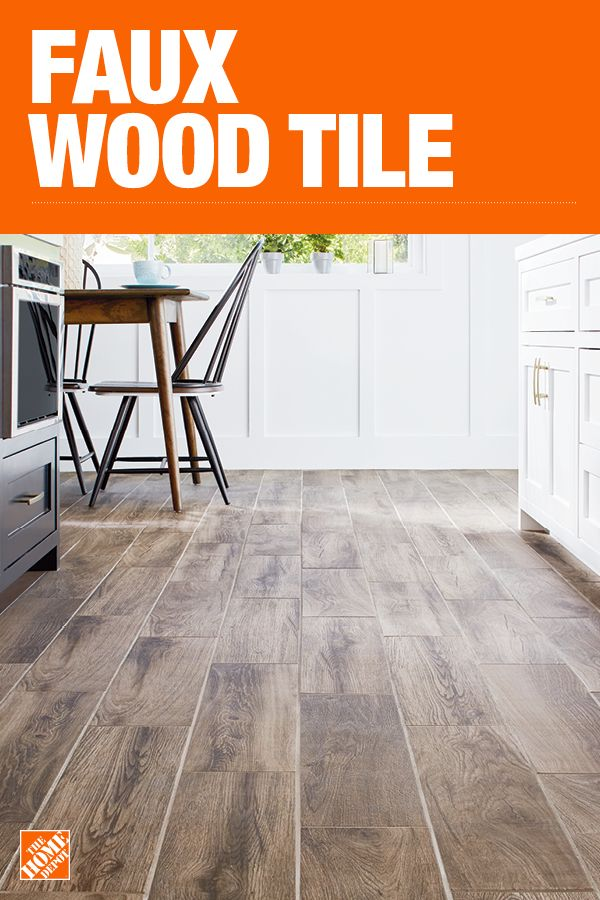The Home Depot Has Everything You Need For Your Home Improvement Projects Click To Learn More And Shop Available Faux Wood Faux Wood Tiles Wood Tile Flooring