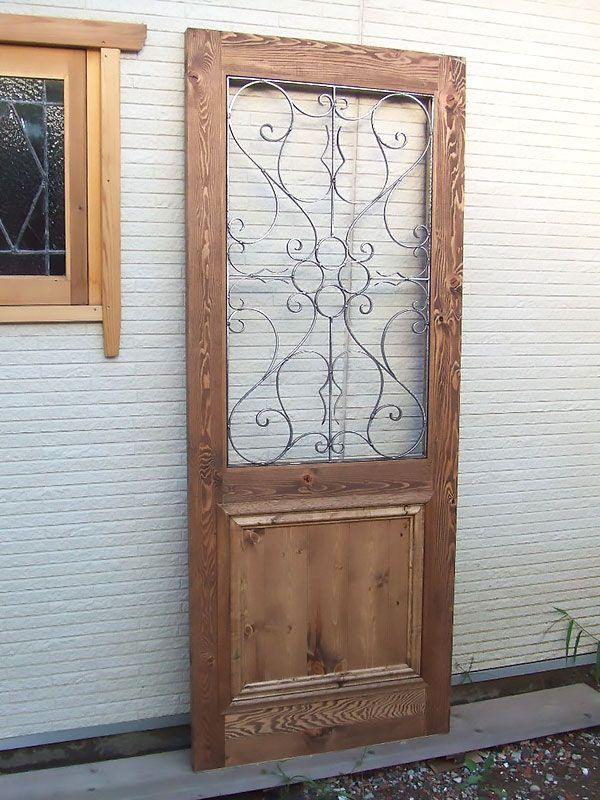 アイアン面格子付きドア2 室内ドア ドア 家