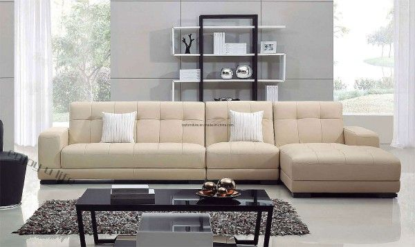 Charming Brown Living Room Sofa Set And Carpet In White Living