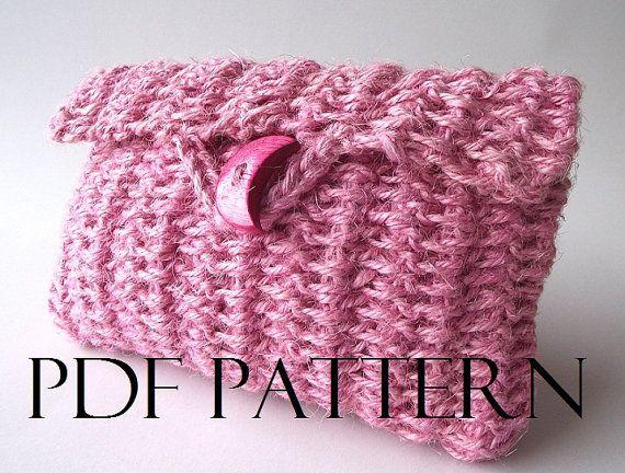 CROCHET BAG PATTERN Purse Clutch Bag Pouch Bag by LiliaCraftParty  #crochet #bags
