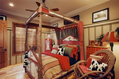 Boys Room Ideas with Cowboy Bedroom Style Picture