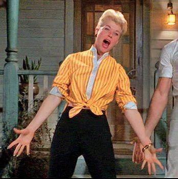 Doris Day. The Pajama Game Movie | Fashion In Film: The Pajama Game (1957)